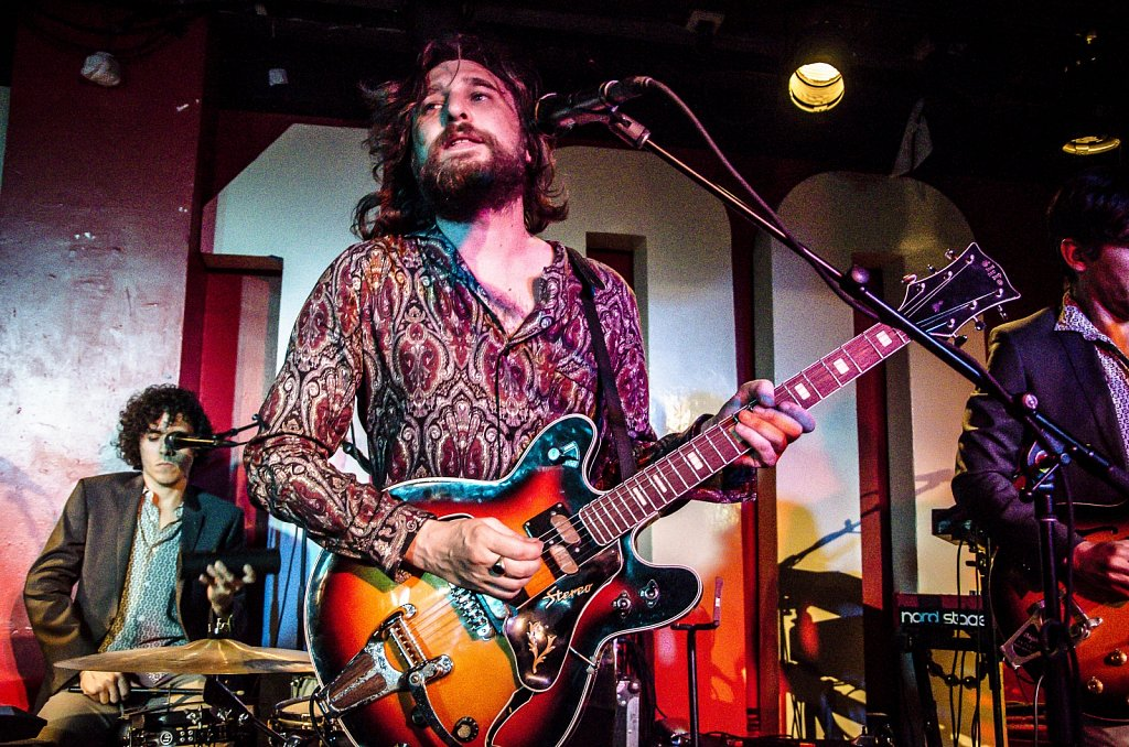Nic Cester ant The Milano Electrica @ 100 Club, London