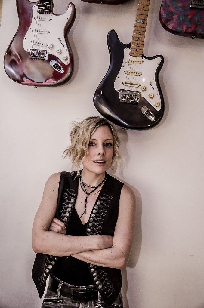 Christina Martin portraits at Sound Lounge. Session for Rockshot Magazine