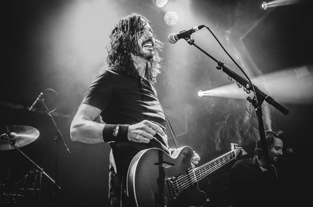 Jay Apperley (UK Foo Fighters) @ O2 Academy Islington, London, 2016