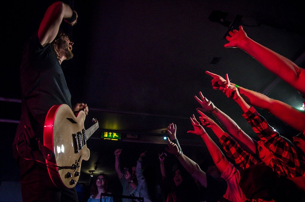 UK Foo Fighters live @ The Wardrobe, Leeds, October 2017
